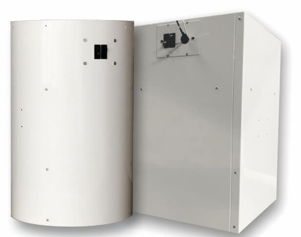 Air-Row Reclaims Trapped Air for Destratification, Energy Savings