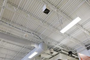 Destratification Fans for Retail & Big Box Stores