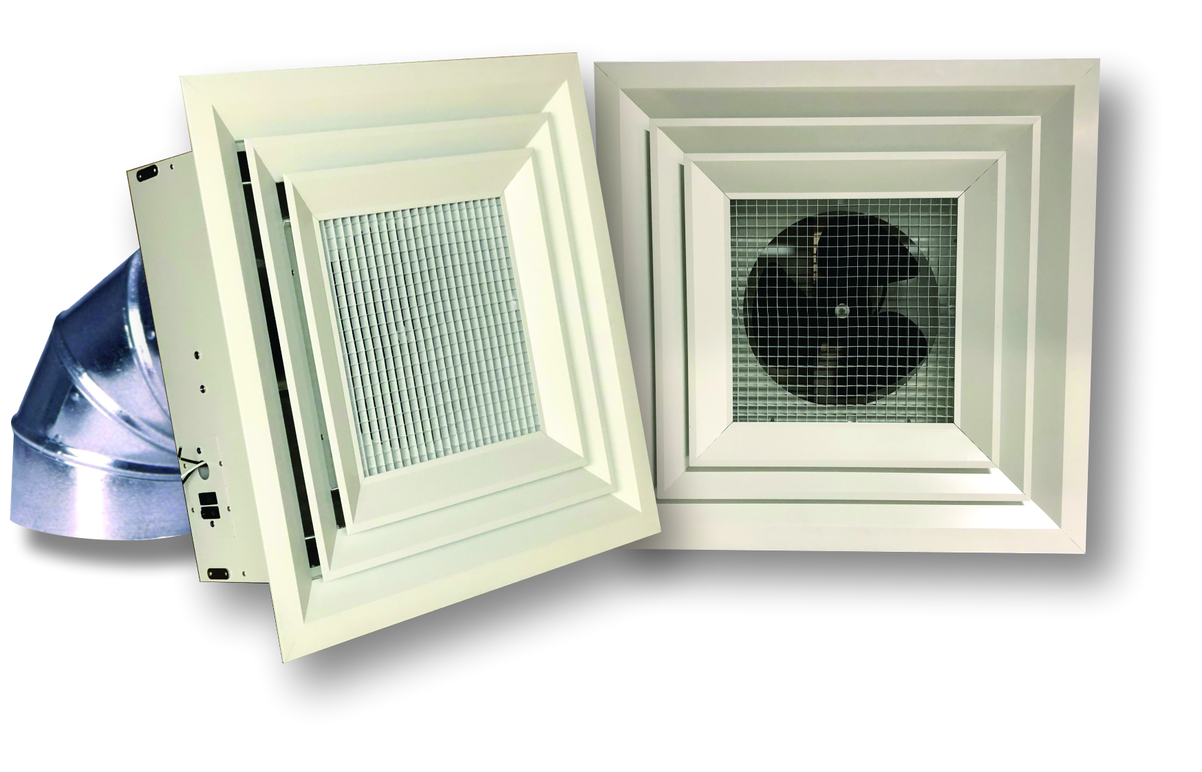 Destratifaction Fans For Grid Ceilings