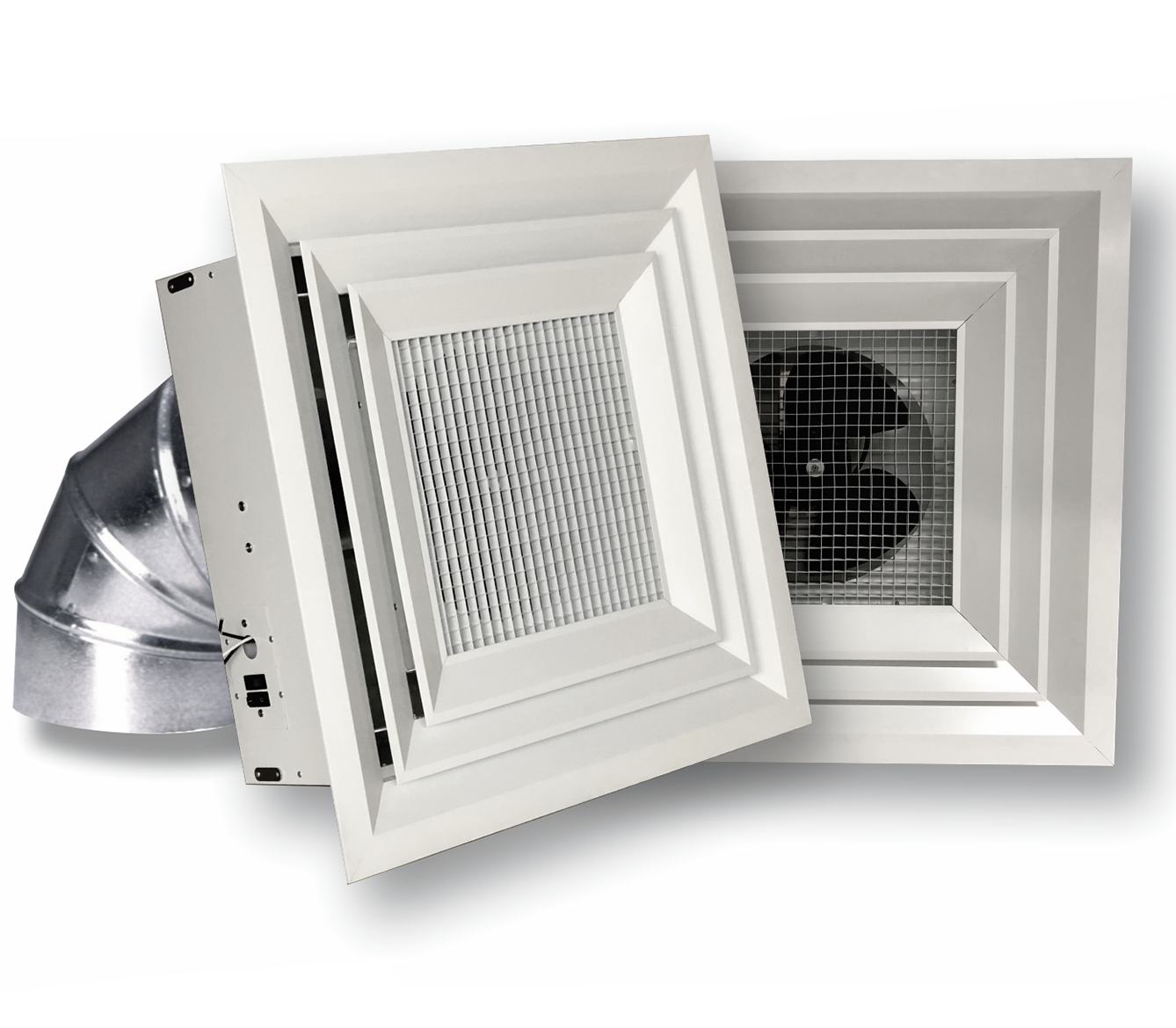 Destratification Fans for Grid Ceilings